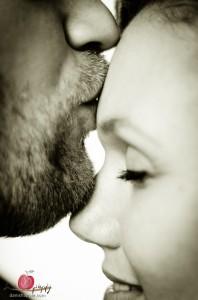 Soft kiss