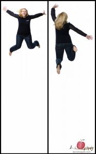 Claudia's jump!