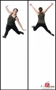 Dasha's jump!